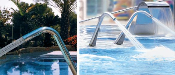 Deycon for Accesorios para piscinas cascadas